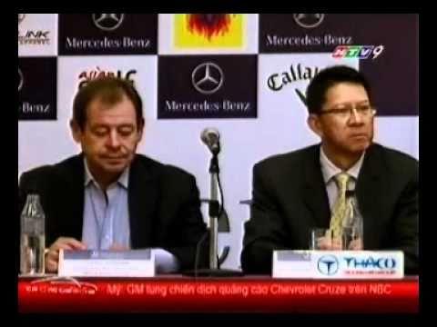 MERCEDES BENZ Master Viet Nam - HTV9 - TRONG THE GIOI XE - 12/09/2010