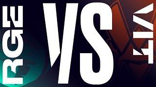RGE vs. VIT - Week 2 Day 1 | LEC Summer Split| Rogue vs. Vitality (2019)