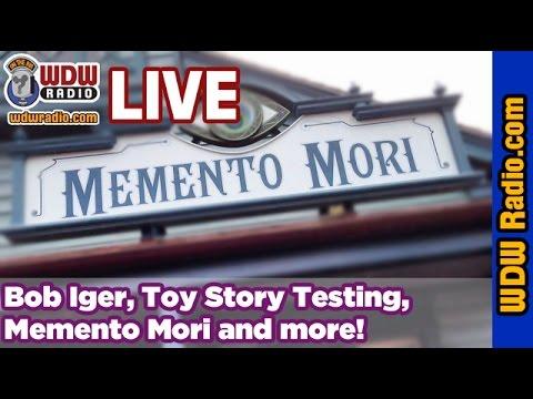 WDW NewsCast - Bob Iger, Frozen, Candlelight Processional, Memento Mori, Disney Halloween