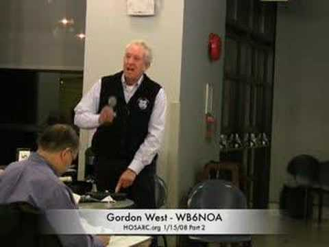 Gordon West speaking at HOSARC general meeting1/15/08 Part2