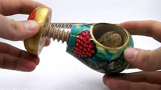 Wooden handmade nutcracker