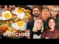 MUNCHIES Viewers Face-Off In A Breakfast Pasta Battle