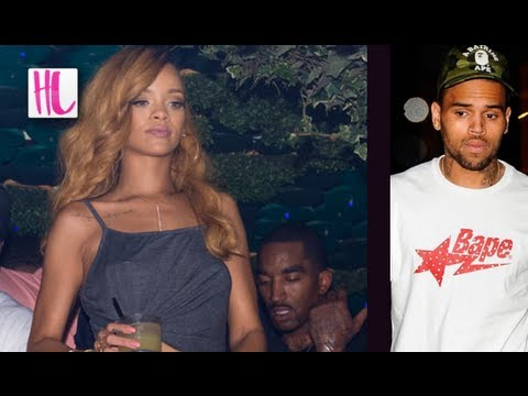 Rihanna Parties With Ex Boyfriend JR Smith Instead Of Chris Brown