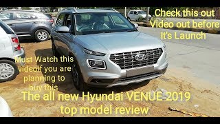 The all new Hyundai VENUE 2019 top model review EVERY FEATURE explained