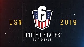 Rainbow Six: US Nationals - 2019 | Stage 2 | Week 4 | Western Conference Top 4 | Ubisoft [NA]