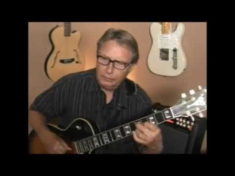 Smoke Gets In Your Eyes Jazz Guitar Arrangement Lesson Demo - Rich Severson