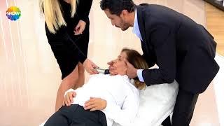 Boyun fıtığı hastamızın canlı yayında tedavisi