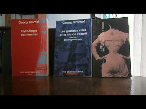 GEORG SIMMEL Psychologie des femmes (fiche de lecture 31)