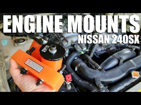 How to Install Polyurethane Engine & Transmission Mounts