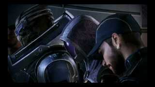 Mass Effect 3 - Synthesis Ending. Extended Cut. Male Shepard x Kaidan romance