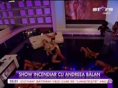 Andreea Balan African Show  6.11.14