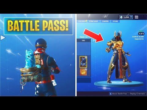 Showcasing New Season 7 Battle Pass Fortnite Season 7 Battle Pass
