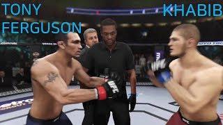 UFC3 토니 퍼거슨 vs 하빕 누르마고메도프 Tony Ferguson vs Khabib Nurmagomedov