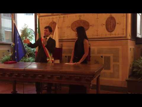 Anggun receives the prestigious « Keys of the City Award » from Mayor of Florence, Italy