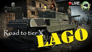 Road to tier X | Lago tier IV | WoT Console