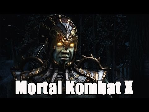 Mortal Kombat X New Gameplay Kotal Kahn and Cassie Cage  With Ed Boon