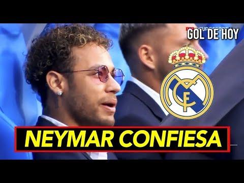 La última confesión de Neymar sobre el Real Madrid thumbnail