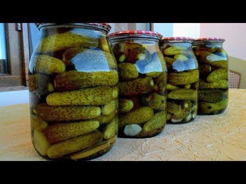 """Маринованные огурцы """"Проще простого"""", Отличный рецепт моей Мамы/Pickled gherkins"""