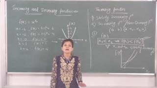 MATHS-XII-6-03 Increasing and Decreasing functions(2016) By Swati Mishra, Pradeep Kshetrapal channel