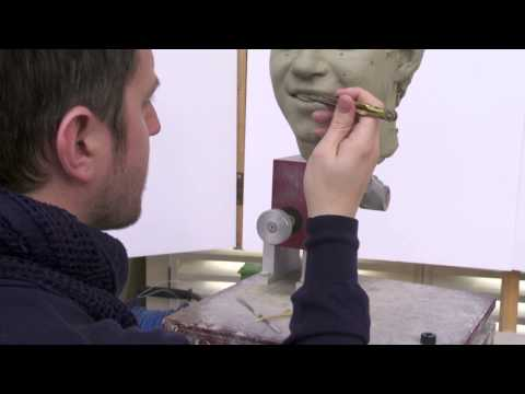Sculpting Niall Horan from One Direction at Madame Tussauds London