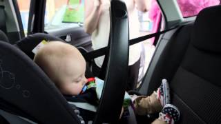 How to fit a rearward-facing car seat with a seatbelt - Which? guide