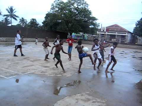 Soccer in Mozambique