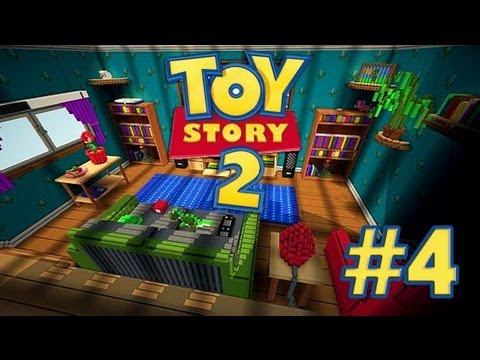 Toy Story: MINECRAFT - Mapa de Aventuras Con Mi Hermana - Episodio 4