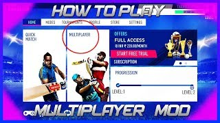 How to Play Online/Multiplayer Mode in Real Cricket 19