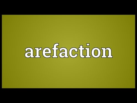 Header of arefaction