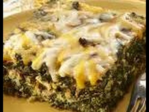 How to Prepare Spinach and cheese bake - Food, pizza,Non vegetarian, funny hot recipes