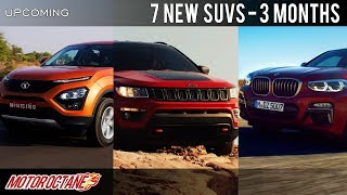 7 New SUVs Coming in 3 months | Hindi | MotorOctane