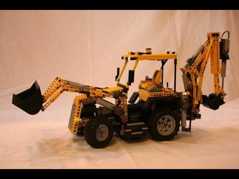 R/C Lego Backhoe MOC