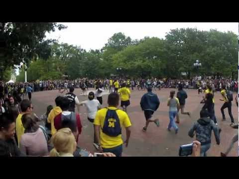 University of Michigan Gangnam Style Flash Mob