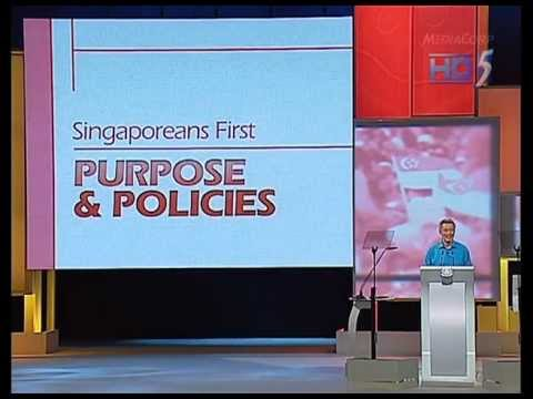 Singapore National Day Rally 2011 Pt2/4 - 14Aug2011