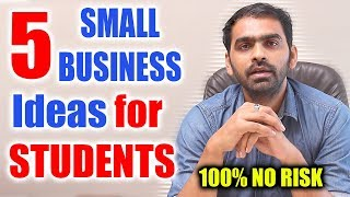 5 Best Small Business Ideas for Students | Part Time Money for Students | Part Time Jobs Online