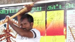 OL19 Silambam Kuthuvarisai Varmakalai Bo staff Lon