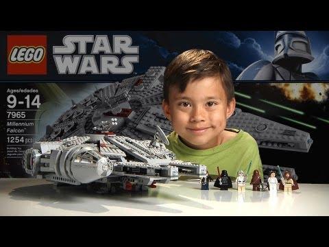 Обзор LEGO Звездные Воины: Сокол Тысячилетия (7965) Star Wars Millennium Falcon Обзор на 15Toys.RU