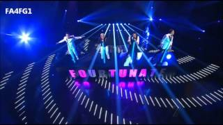 Fourtunate: How Will I Know - The X Factor Australia 2012 - Live Show 5, TOP 8