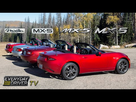 Which Is Best Driving All Four Mx5 Miatas Everyday Driver