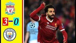 LIVERPOOL VS MANCHESTER CITY 3-0 English Commentary All Goals Extended Highlight UCL Leg 1
