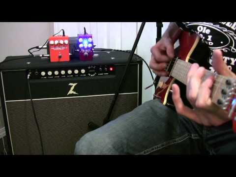 Wampler Pinnacle Distortion Demo - Jason Hobbs Music Videos