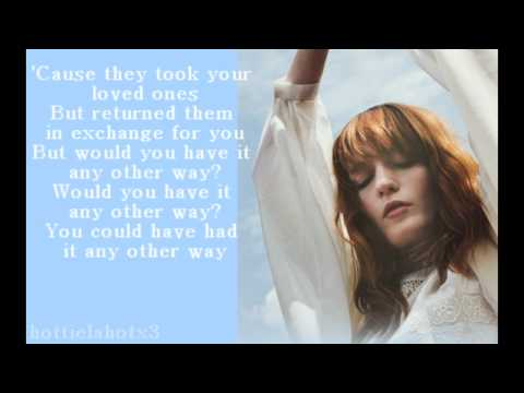 Florence + The Machine - What the Water Gave Me (Lyrics)