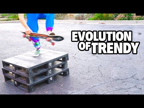 THIS ONE TRICK WILL TURN YOU TRENDY SKATER!!