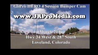 Loveland, Colorado Hwy 34 (Eisenhower) & 287 South