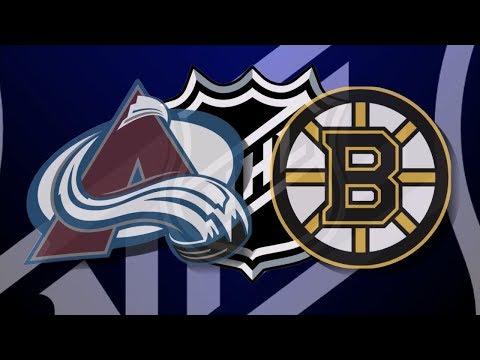 Колорадо – Бостон (12.10.17) Обзор матча...