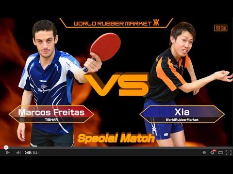 【TableTennis】M.Freitas[TIBHAR] vs Xia[WRM]  Special Match【卓球知恵袋】