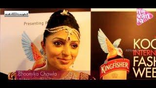 AD Singh with Bhoomika Chawla @ Kochi Fashion Week - Bridal Collection