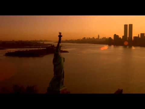 New York Movie Clip - Wall Street (1987), Statue of Liberty & World Trade Center