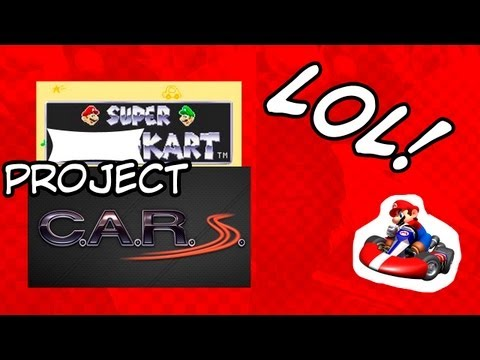 Super Mario Project CARS