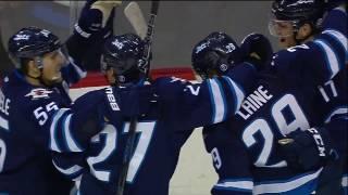 Patrik Laine 5-4 OT Goal vs Maple Leafs | Oct 19 2016